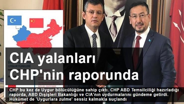 CIA yalanları CHP'nin raporunda