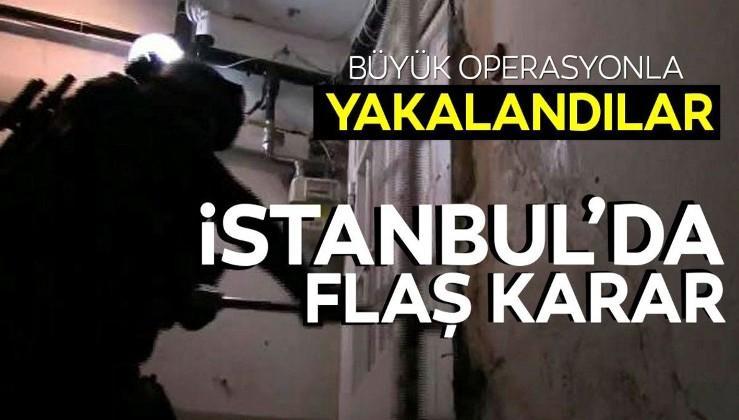 Son dakika: İstanbul'da DHKP/C'ye operasyon: 5 şüpheli kıskıvrak yakalandı