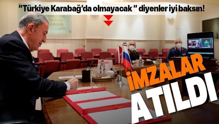 Türkiye ve Rusya Karabağ'da ortak merkez kuruyor