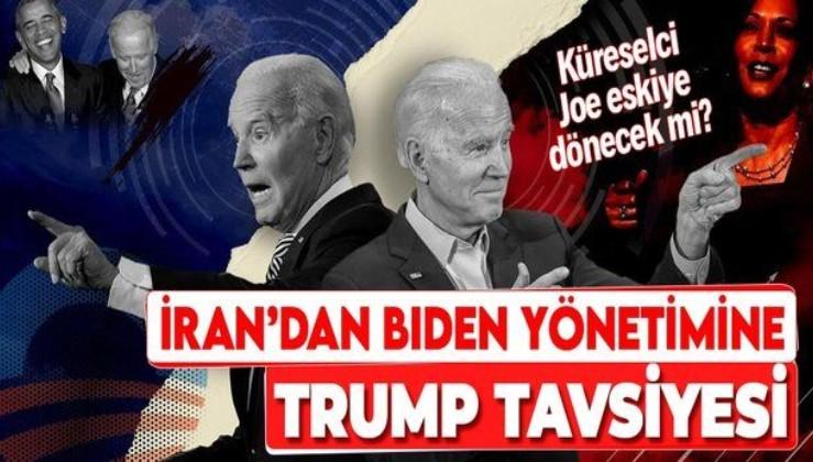 İran'dan Biden yönetimine ilk mesaj: Trump'ın politikalarını tekrar etmeyin