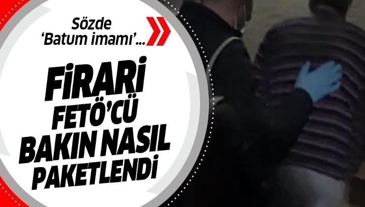 """FETÖ'nün sözde """"Batum imamı"""" ve """"Gürcistan eğitim sorumlusu"""" Denizli'de yakalandı!"""