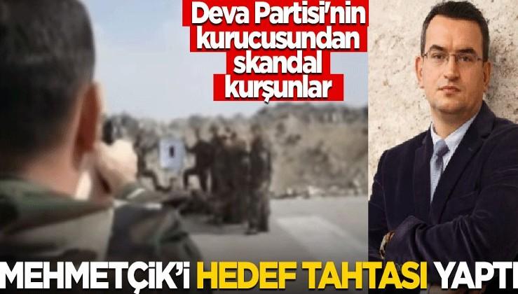 Mehmetçik'i hedef tahtası yapıp ateş etti! Deva Partisi'nin kurucusu Metin Gürcan'dan skandal kurşunlar