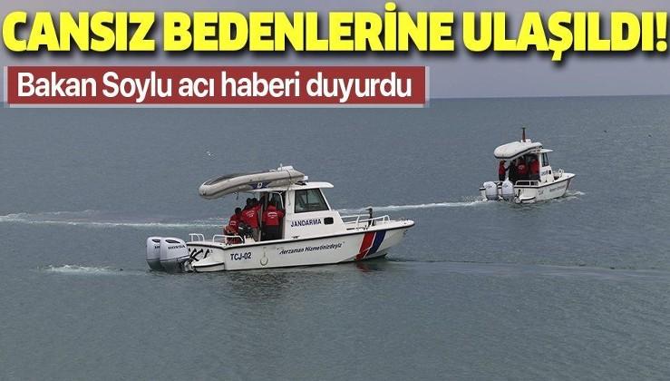 Son dakika: Van Gölü'nde göçmen faciası! İçişleri Bakanı Süleyman Soylu son durumu paylaştı