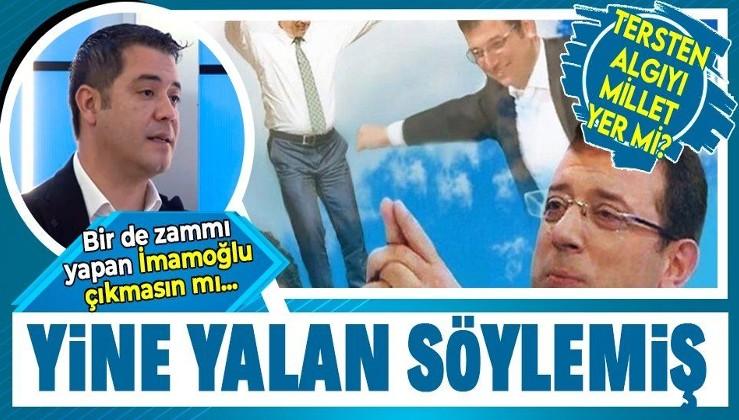 Murat Ongun'un yine yalan söylediği belirlendi! İstanbul'da taksi, minibüs ve dolmuş ücretlerine zammı Ekrem İmamoğlu istemiş