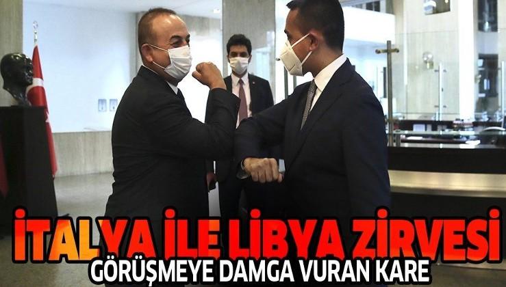 """Son dakika: İtalya Dışişleri Bakanı Maio Ankara'da! Bakan Çavuşoğlu'ndan """"Libya'da ateşkes"""" açıklaması"""