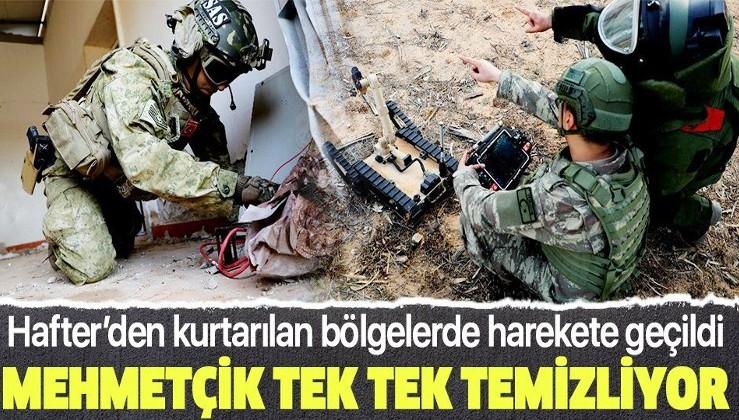 Son dakika: Libya'da bulunan Türk askerinden ilk görüntü! Hafter'in tuzakladığı patlayıcılar temizlendi