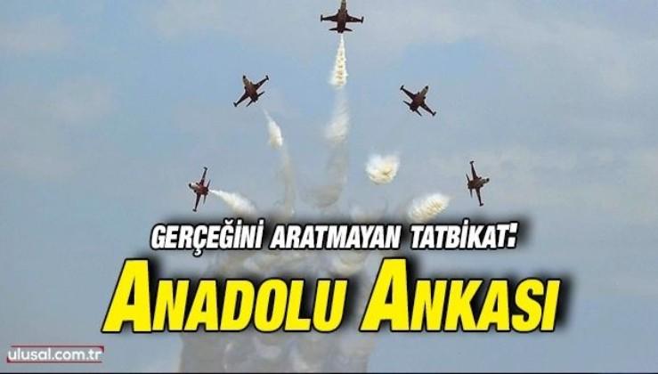 Uluslararası Anadolu Ankası Tatbikatı tamamlandı
