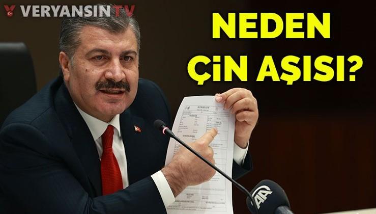 Fahrettin Koca Amerikancıların 'Çin aşısı' eleştirilerine yanıt verdi: Türkiye neden tercih etti?