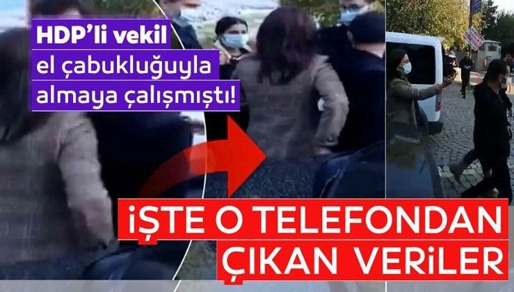 SON DAKİKA: Terör destekçisi HDP Milletvekili Nuran İmir'in sakladığı telefonda örgütsel dokümanlar bulundu