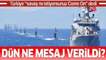 """Türkiye, 8 saatlik tatbikatla dünyaya """"24 saatte savaşa hazırım"""" dedi"""