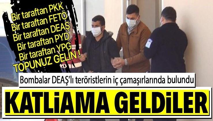 ABD tüm kozlarını oynuyor: Şanlıurfa'dan Türkiye'ye sızmaya çalışan DEAŞ'lı 3 terörist, iç çamaşırlarına gizlemiş bombalarla yakalandı
