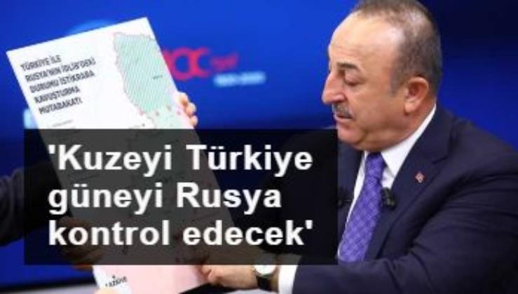 Çavuşoğlu: M4'ün kuzeyini Türkiye, güneyini Rusya kontrol edecek