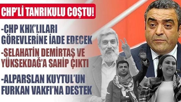CHP'li Tanrıkulu'ndan Demirtaş ve Furkan Vakfı'na destek