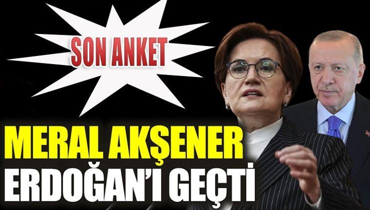 son anket sonuçlarında Erdoğana şok
