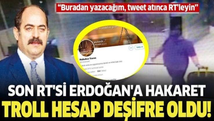 Son dakika: FETÖ'nün firari savcısı Zekeriya Öz'ün trollük yaptığı Twitter hesabı deşifre oldu! Son RT'si Başkan Erdoğan'a hakaret olmuş!