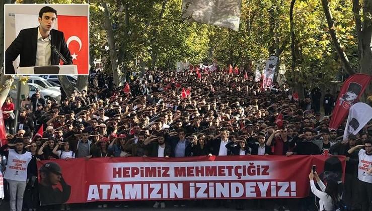 Atatürk eylemle yaşatılır!