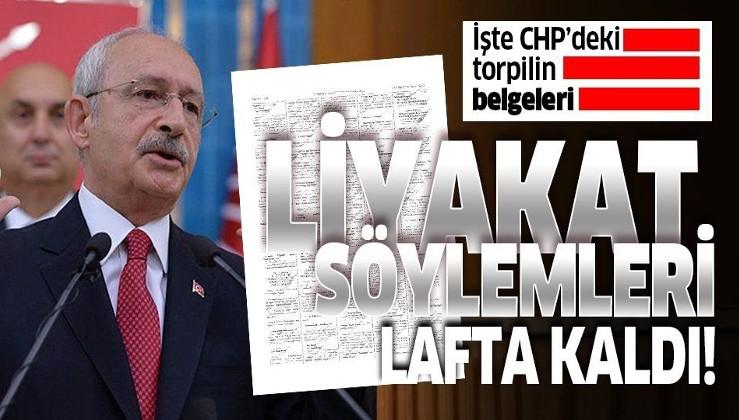 Kılıçdaroğlu'nun liyakat söylemleri lafta kaldı!.