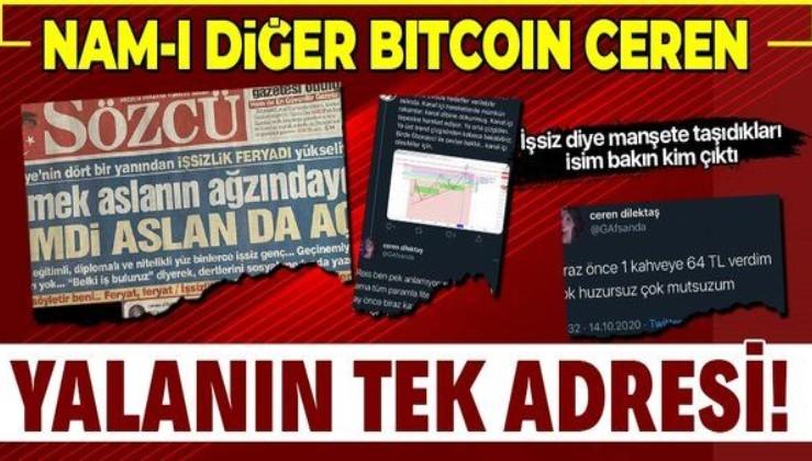 Sözcü gazetesinden bir yalan daha! İşsiz dedikleri kadın Bitcoin yatırımcısı çıktı