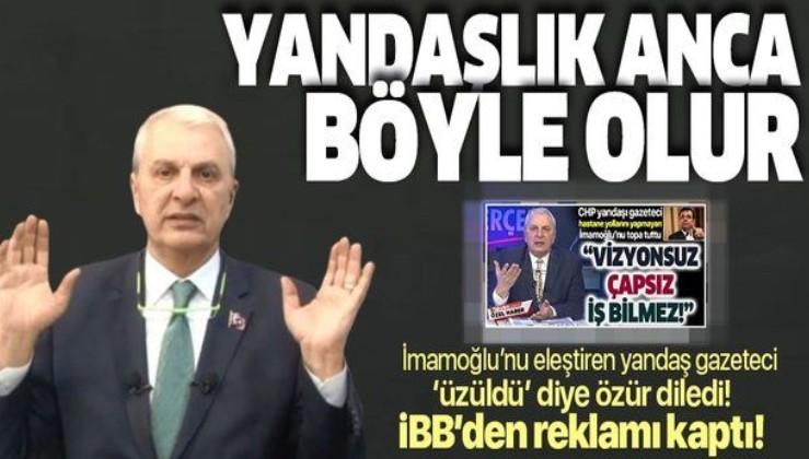 """Ekrem İmamoğlu'nu eleştiren Can Ataklı """"üzüldü"""" diyerek özür diledi!"""