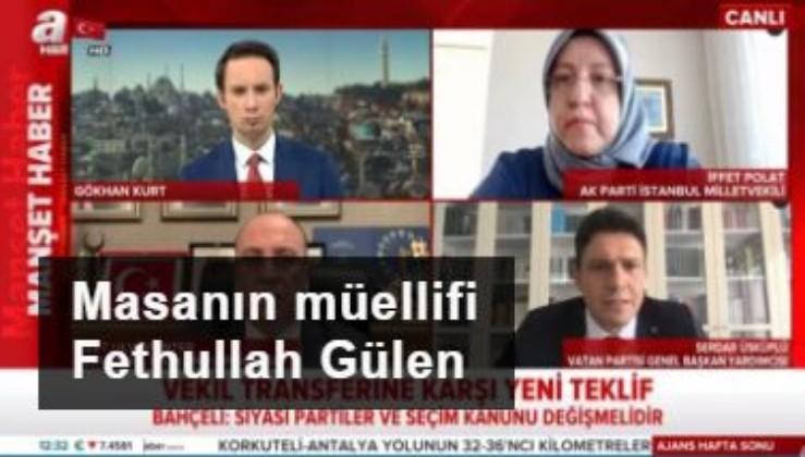 Masanın müellifi Fethullah Gülen