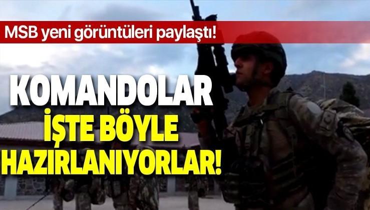 Pençe-Kaplan operasyonu teröristlerin kabusu oldu! Komandolar dev operasyona böyle hazırlanıyorlar!