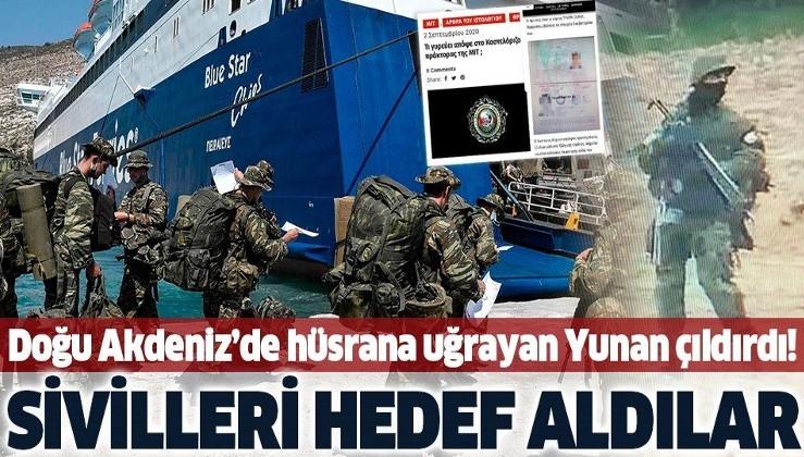 Türk ordusuna karşı başarısız olan Yunanistan sivilleri hedef alıyor