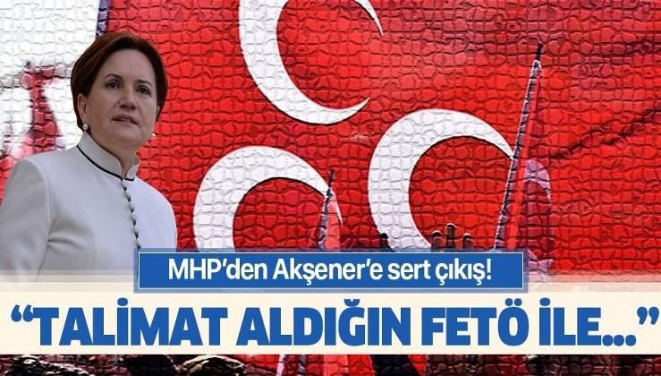 """Meral Akşener'e sert çıkış: """"Talimat aldığın FETÖ ile arana mesafe koy""""."""