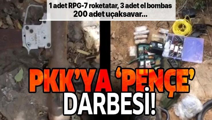 PKK'ya Pençe darbesi! MSB duyurdu!