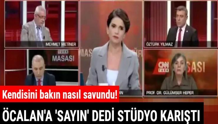 """Prof. Dr. Gülümser Heper teröristbaşı Abdullah Öcalan'a canlı yayında """"Sayın"""" dedi!"""