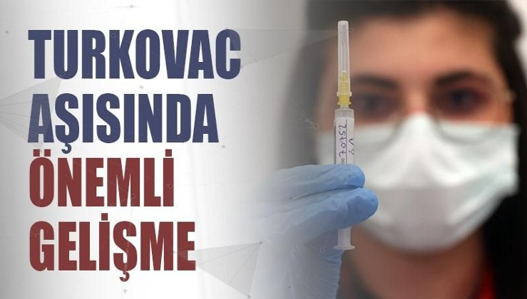Yerli aşı TURKOVAC'ta yan etki görülmedi