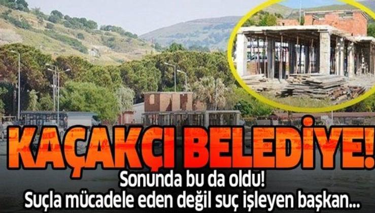 """Bakanlığın """"kaçak"""" tespitine rağmen Gökçeada Belediyesi arkeolojik sit alanındaki betonarme bina çalışmasını sürdürüyor!"""