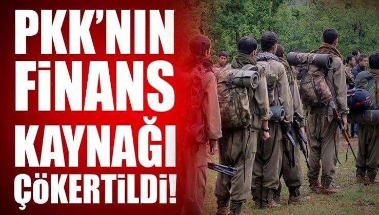 Son dakika: PKK'nın finans kaynağı çökertildi!