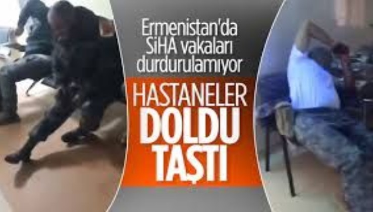 Ermenistan'da hastanelerde askerlerden boş yer yok