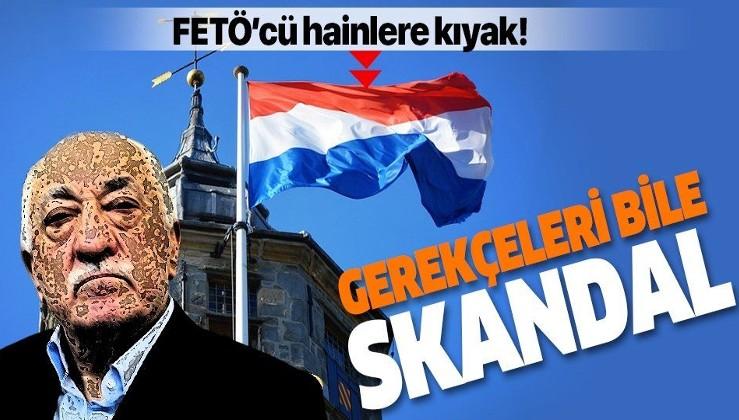 Hollanda'dan FETÖ'cülere oturma izni!.
