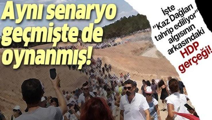 """İşte """"Kazdağları tahrip ediliyor"""" algısının arkasındaki HDP gerçeği."""