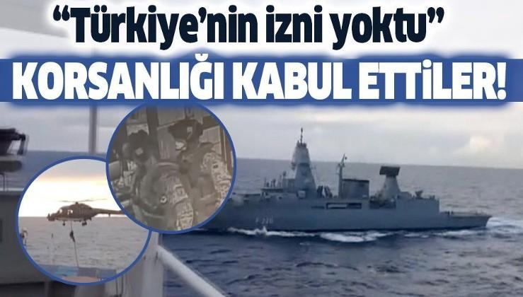 Son dakika: İrini Operasyonu Komuta Merkezi, Türk gemisine yönelik denetimin Türkiye'nin izni olmadan yapıldığını kabul etti!