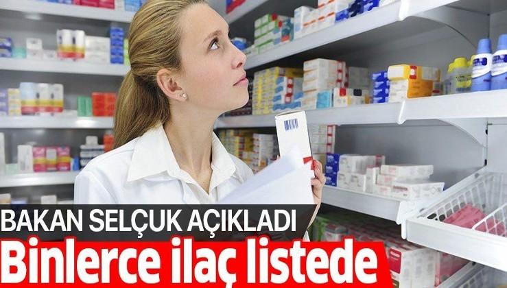 Geri ödeme listesine alınan ilaç sayısı 8 bin 976 oldu