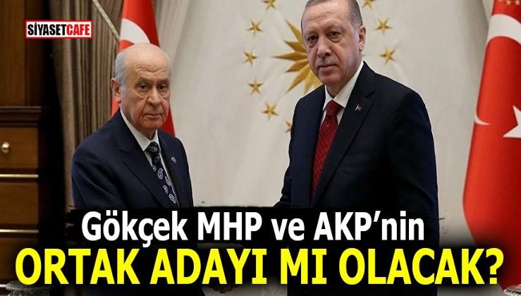 Melih Gökçek MHP ve AKP'nin ortak adayı mı olacak?