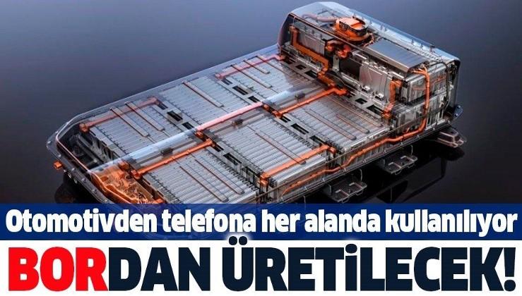 Türkiye'den dev 'lityum' hamlesi: Otomotivden telefona her alanda kullanılıyor