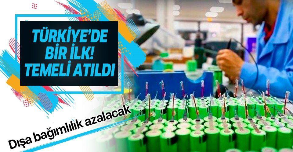 Türkiye'nin ilk lityum iyon pil üretim tesisinin temeli Kayseri'de atıldı: Dışa bağımlılık azalacak