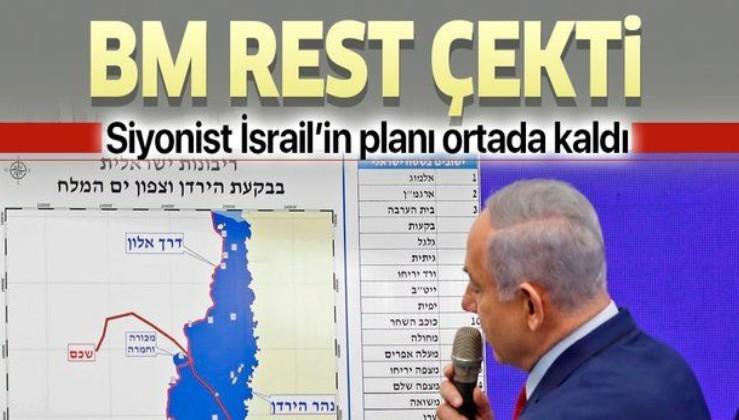 """BM, İsrail'in Batı Şeria'daki ilhak planına """"yasa dışı"""" dedi"""