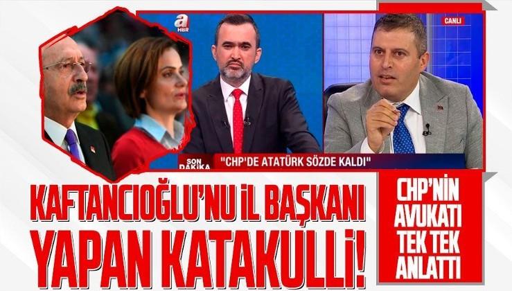 Canan Kaftancıoğlu nasıl İstanbul İl Başkanı oldu? CHP'nin eski avukatı Mustafa Kemal Çiçek dönen katakulliyi anlattı
