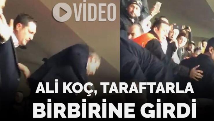 Ali Koç ile Fenerbahçe taraftarları birbirine girdi