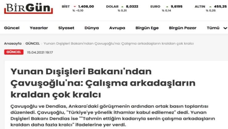 Osman Kavala'nın Birgün'ü Yunan'dan çok Yunancı
