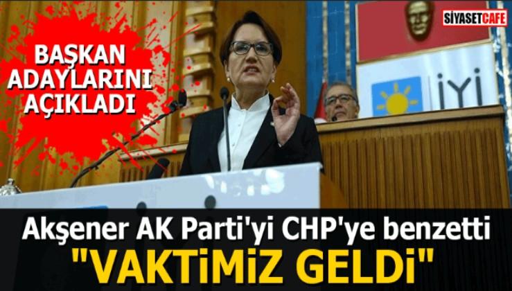 """Akşener: """"Menderes'e yapılanlar İyi Parti'ye yapılmak isteniyor"""""""