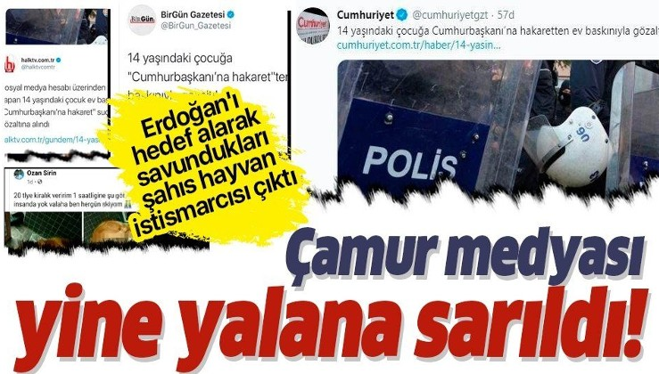 Erdoğan karşıtlarına bile böyle muhalefet olmaz! dedirten kışkırtıcı sözde habercilik!