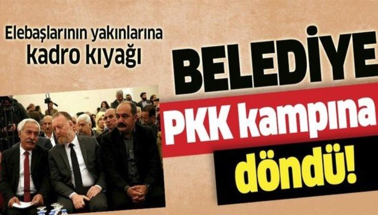 HDP'li başkan Selçuk Mızraklı, belediyeyi PKK kampına çevirdi!.