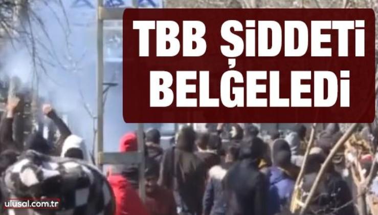 Türkiye Barolar Birliği şiddeti belgeledi