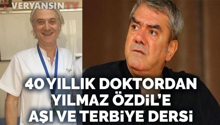 Atatürk tüccarı Yılmaz Özdil ile 40 yıllık Atatürkçü hekimin aşı tartışması