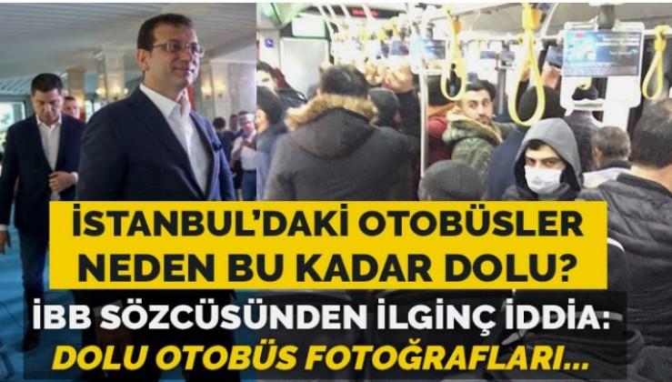 Sefer sayıları seyrekleştirildi: İBB'den ilginç açıklama geldi: Murat Ongun'dan ilginç açıklama: Dolu otobüs fotoğraflarındaki olağanüstü durum